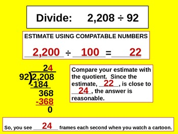 Divide Multi-Digit Numbers for Visual Learners