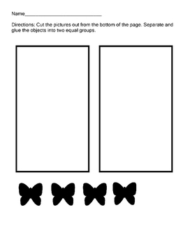 Divide Objects into Equal Groups