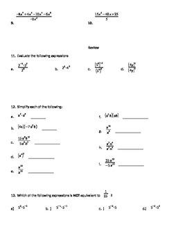 Divide Polynomials by monomials