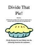 Divide That Pie!