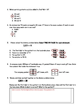 Divide Whole Numbers 5.NBT.B.6
