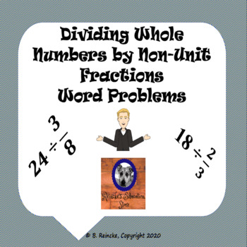 math worksheet : divide whole numbers by non unit fractions word problems 2  : Division Of Whole Numbers Worksheet