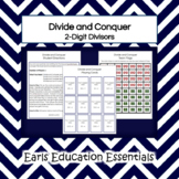 Divide and Conquer: A division game with 2-digit divisors