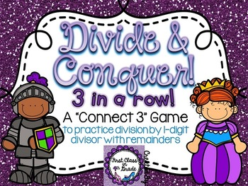 Divide and Conquer (Division by 1-digit divisor with Remainders)