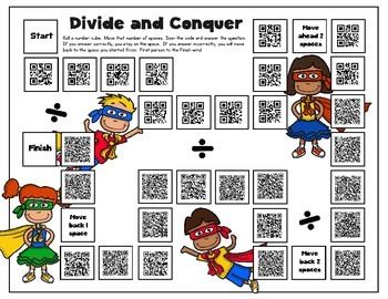 Divide and Conquer - Division with QR Codes