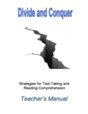 Divide and Conquer: Reading Comprehension and Test Taking Strategies for All