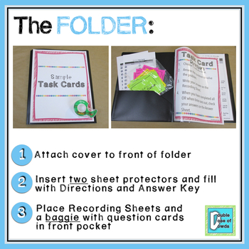 Divide and Multiply Whole Numbers by Fractions Word Problems Task Cards