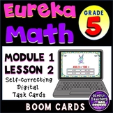 Divide by 10, 100, and 1000. Digital Boom Cards Eureka grade 5 module 1 lesson 2