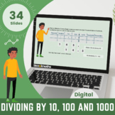 Divide by 10, 100 and 1000 | Grade 5 Digital Lesson with W