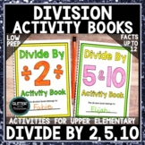Divide by 2, 5, and 10 Activity Book/Activity Pages