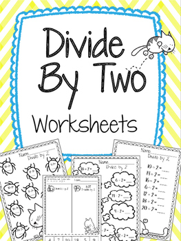 Divide by 2 Worksheets. Division Practice. Review