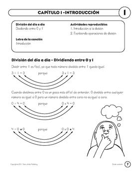 Division Songs & Activities in Spanish - MP3 Album Download, Lyrics & Activities
