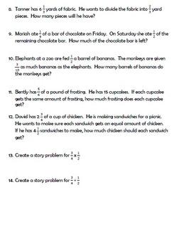 Divide or Multiply Fractions