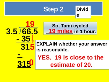Divide with Decimals for Visual Learners