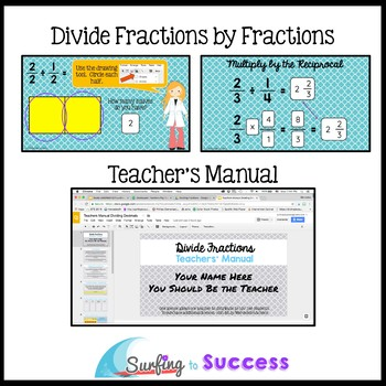 Divide with Fractions: Interactive Math for the Google Classroom