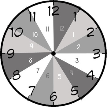 Divided Hour Clock