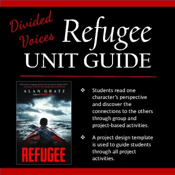 Divided Voices Unit for Refugee by Alan Gratz