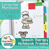Divider Tabs for Language Notebooks - FREE!
