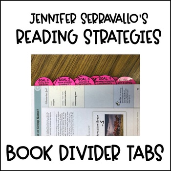 Divider Tabs for the Reading Strategies Book