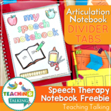 Divider Tabs for Interactive Articulation Notebooks - FREE