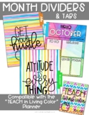Dividers {Teach in Living Color}