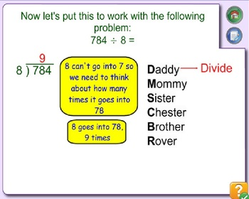 Dividing 3 digit by 1 digit numbers