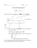 Dividing 3 digits by 1 digit, partial quotient; student instruction; special ed