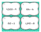 Dividing by 1 Digit Differentiated Word Problem Task Cards + Exit Ticket