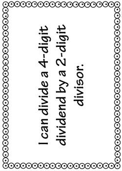 Dividing 4-digit Dividend by 2-digit Divisor TEKS 5.3C