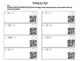 Dividing By 1 Digit With QR Codes