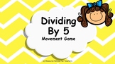 Dividing By Five Number Facts Mental Maths Game, Brain Break or Maths Warm Up