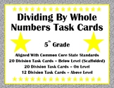Dividing By Whole Numbers Task Cards