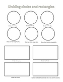 Dividing Circles and Rectangles CC 2G2