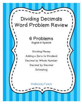 Dividing Decimal Review