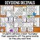 Dividing Decimals Games: 10 Multi-Level Bump Games for Decimal Division