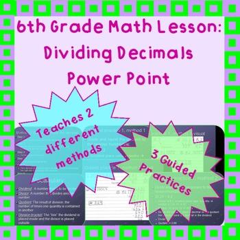 Dividing Decimals: A Power Point Lesson