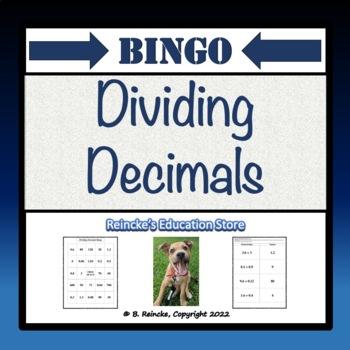 Dividing Decimals Bingo (30 pre-made cards!!!)
