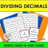Dividing Decimals Bingo