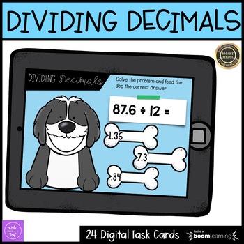 Dividing Decimals Boom Cards