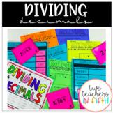 Dividing Decimals Bundle