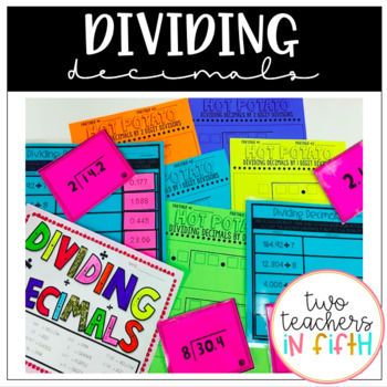 Dividing Decimals Bundle