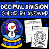 Dividing Decimals Color By Answer
