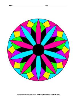 Dividing Decimals Color by Number