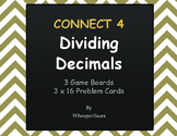 Dividing Decimals - Connect 4 Game