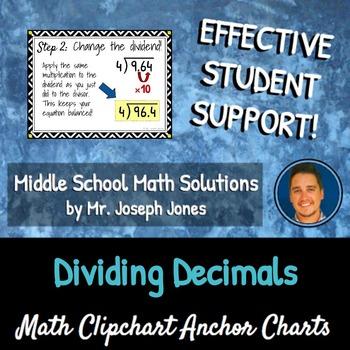 Dividing Decimals: DIY Math Anchor Chart CLIPCHART