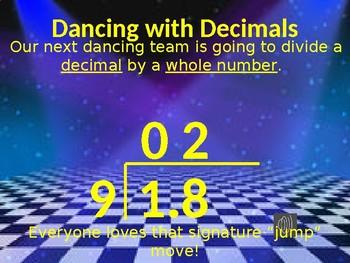 Dividing Decimals Dance