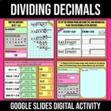 Dividing Decimals Activity   Digital Google Slides