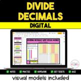 Dividing Decimals Digital Resource Pack {with Visual Model
