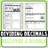 Dividing Decimals Discover & Doodle