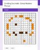 Dividing Decimals - EMOJI Mystery Picture - Google Forms